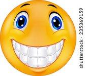 happy smiley face | Shutterstock .eps vector #235369159