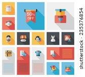 shopping flat app ui background ...