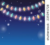 vector christmas background... | Shutterstock .eps vector #235391728