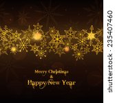 beautiful and shine 2015... | Shutterstock .eps vector #235407460