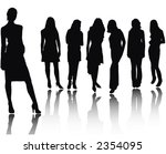 young women | Shutterstock .eps vector #2354095