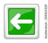left arrow icon. internet... | Shutterstock . vector #235421329