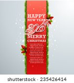 christmas and new year. vector... | Shutterstock .eps vector #235426414