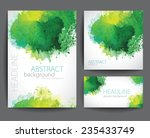 set of vector  banners with... | Shutterstock .eps vector #235433749