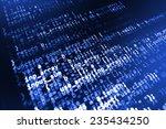 Digital Abstract Bits Data...