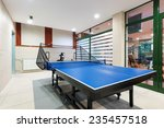 entertainment room with tennis... | Shutterstock . vector #235457518