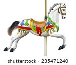 An Ancient Carousel Horse...