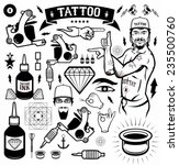 tattoo graphics | Shutterstock .eps vector #235500760
