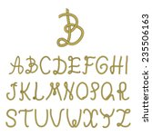 Vector   Rope Font  Part 1....