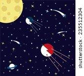 spaceship | Shutterstock .eps vector #235512304