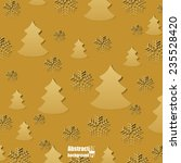 winter background. eps10 vector ... | Shutterstock .eps vector #235528420