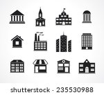 building icons | Shutterstock .eps vector #235530988