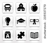 school and educational...   Shutterstock .eps vector #235537270