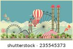 vector holiday background with... | Shutterstock .eps vector #235545373