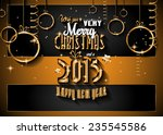 2015 new year and happy... | Shutterstock . vector #235545586
