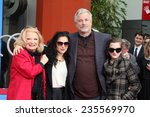 Small photo of LOS ANGELES - DEC 5: Gena Rowlands, Alexandra Cassavetes, Nick Cassavetes, Zoe Cassavetes at the Gena's Hand and Foot Print Ceremony at the TCL Chinese Theater on December 5, 2014 in Los Angeles, CA