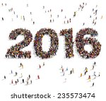 2016 formed out from...   Shutterstock . vector #235573474
