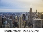manhattan  new york city. usa. | Shutterstock . vector #235579390