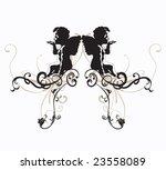 illustration of angels | Shutterstock .eps vector #23558089