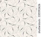 vector seamless pattern. modern ... | Shutterstock .eps vector #235592626