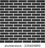 Black Brick Wall Seamless...
