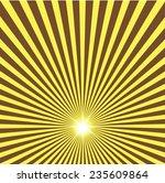 sun ray background | Shutterstock .eps vector #235609864