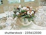 christmas decoration interior... | Shutterstock . vector #235612030