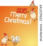 cartoon funny sheep and numbers ...   Shutterstock .eps vector #235623769