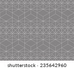 magic pattern  made of 4 basic... | Shutterstock .eps vector #235642960