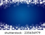 winter background with... | Shutterstock . vector #235656979