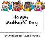 happy mothers day | Shutterstock .eps vector #235670458