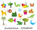 collection of vector nature... | Shutterstock .eps vector #23568949
