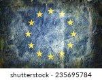 flag of the european union .... | Shutterstock . vector #235695784