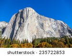 El Capitan Mountain In Yosemite ...
