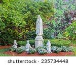 Religious Praying Statue