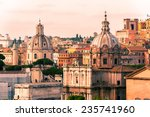 Beautiful View Of Rome At...