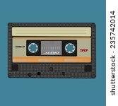 retro audio cassette. vintage...