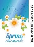 floral  design   vector... | Shutterstock .eps vector #235756318