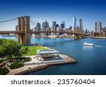 Постер, плакат: Brooklyn Bridge in New