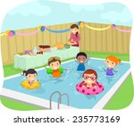 illustration of kids having a... | Shutterstock .eps vector #235773169