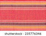 traditional thai sarong pattern ...   Shutterstock . vector #235776346