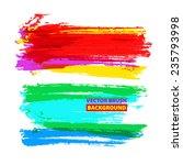 vector hand drawing... | Shutterstock .eps vector #235793998