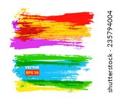 vector hand drawing... | Shutterstock .eps vector #235794004