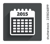 calendar sign icon. date or...