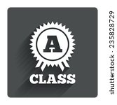 a class award icon. premium...