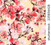 seamless pattern of spring...   Shutterstock . vector #235856428