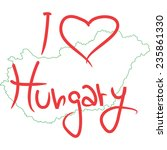 hungary | Shutterstock .eps vector #235861330