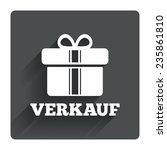 verkauf   sale in german sign...