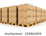 shipment  logistics  delivery... | Shutterstock . vector #235863394