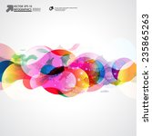 abstract vector background | Shutterstock .eps vector #235865263